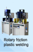 rotary friction plastic welding